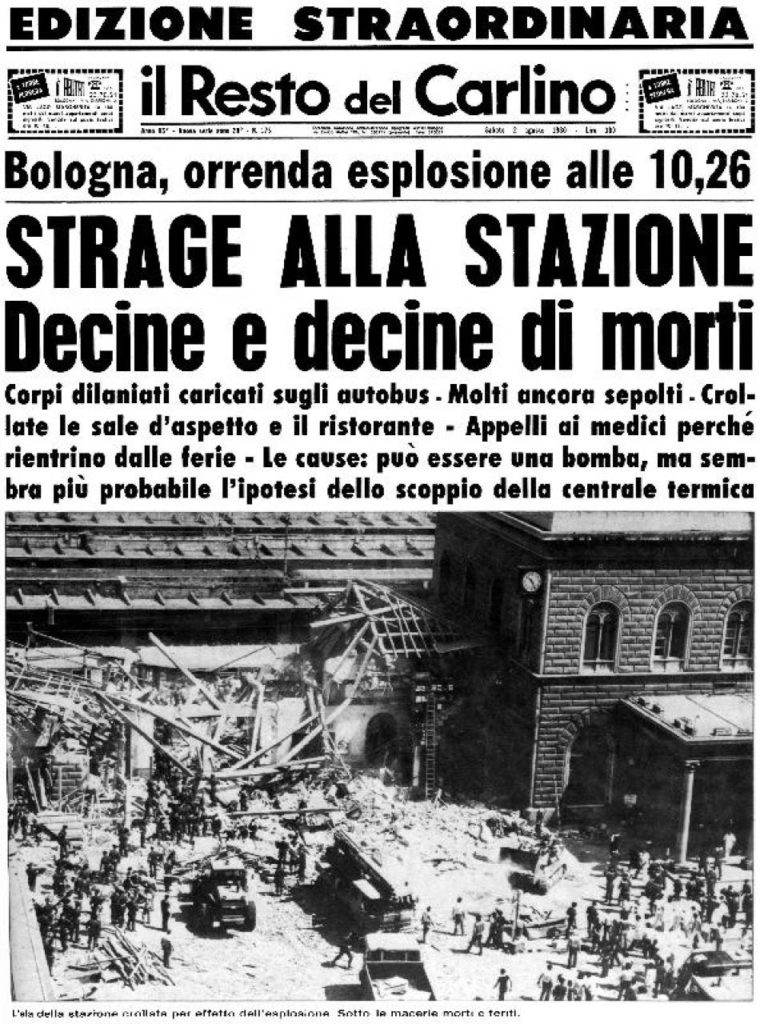 2 agosto 1980 Resto del Carlino